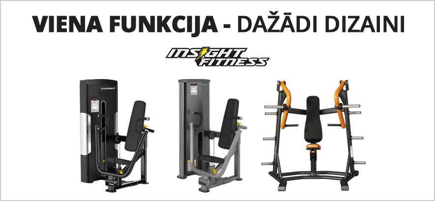 Insight Fitness - viena funkcija, dažādi dizaini