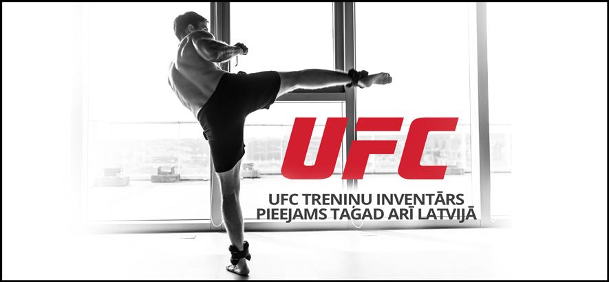 UFC treniņu inventārs tagad pieejams arī Latvijā