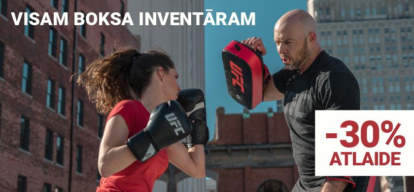 UFC Boksa inventāram 30% atlaide - trenažieri.lv